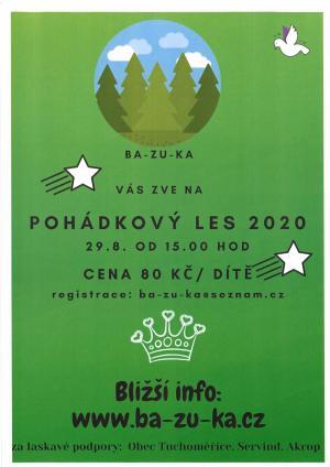 Pohádkový les 2020
